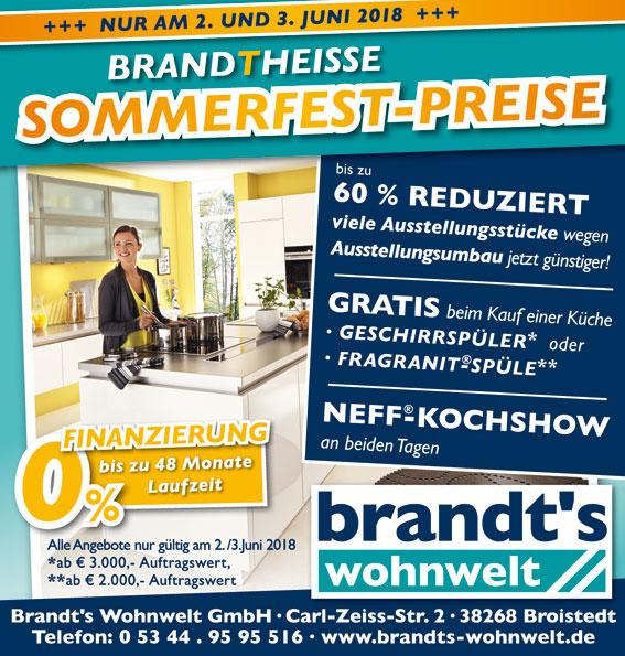 Aktion - Brandt\'s Wohnwelt